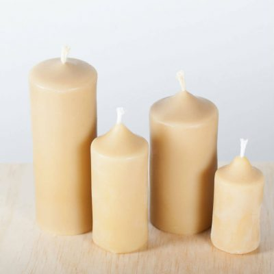 Pain Pillar Group 02 100% pure Beeswax Candle