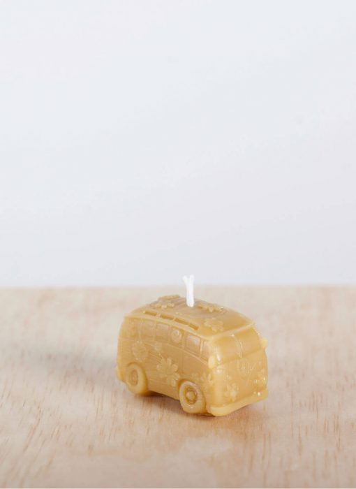 Campervan 04 100% Pure Beeswax Candle