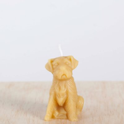 Dog 01 100% Pure Beeswax Candle