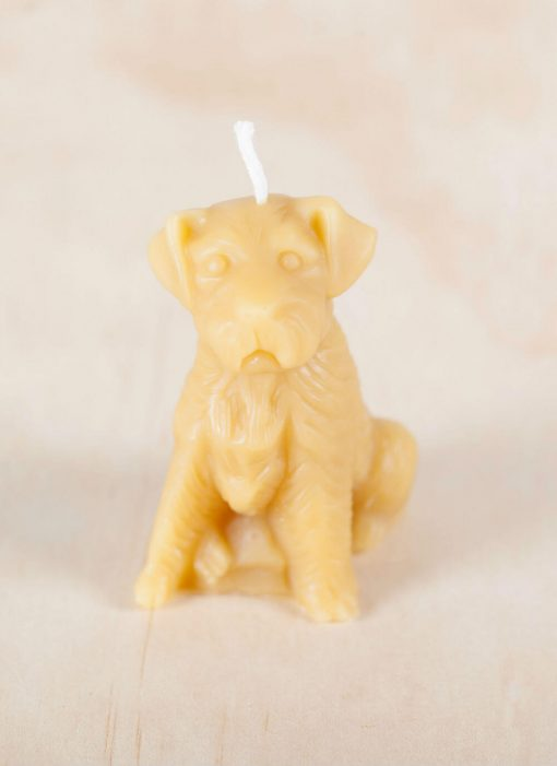 Dog 02 100% Pure Beeswax Candle