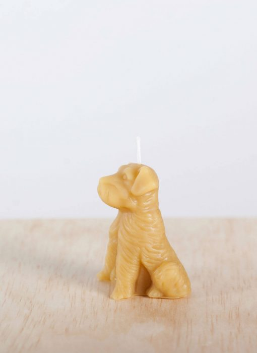 Dog 05 100% Pure Beeswax Candle